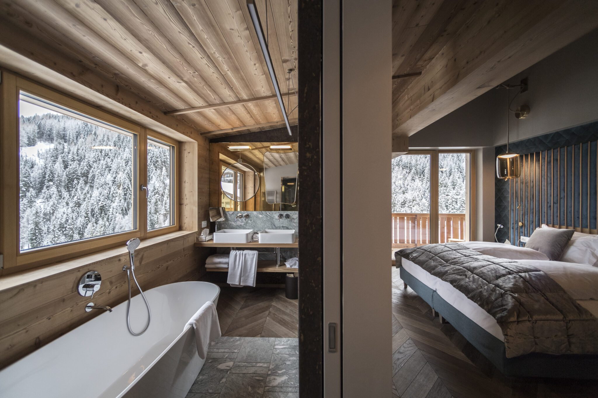 Nest Italy: Penthouse Suite in San Cassiano